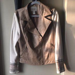 Like new BKE faux leather jacket